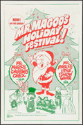 "Movie Posters:Animation, Mr. Magoo's Christmas Carol/Mr. Magoo's Little Snow White (United Productions, 1970). One Sheet (27"" X 41""). Animation.. ..."