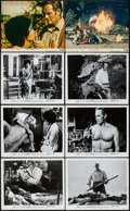 """Movie Posters:Science Fiction, The Omega Man (Warner Brothers, 1971). Photos (6) (8"""" X 10"""") & Mini Lobby Cards (2) (8"""" X 10""""). Science Fiction.. ... (Total: 8 Items)"""