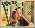 "Movie Posters:Western, The Texan (Paramount, 1930). Lobby Card (11"" X 14""). Western.. ..."