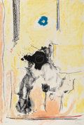 Prints & Multiples, Helen Frankenthaler (1928-2011). Madame de Pompadour, 1985-90. Lithograph in colors on Arches Cover paper. 43-1/2 x 29-1...