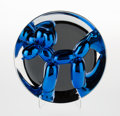 Fine Art - Sculpture, American:Contemporary (1950 to present), Jeff Koons (b. 1954). Balloon Dog (Blue), 2002. Chromeglazed porcelain. 10-1/4 inch (26.0 cm) diameter. Ed. 1061/2300....