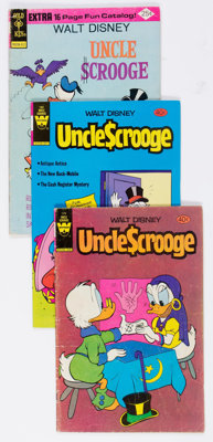 Uncle Scrooge #116-209 Box Lot (Gold Key, 1974-84). Condition: Average GD/VG