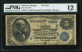 National Bank Notes:Oregon, Ontario, OR - $5 1882 Date Back Fr. 537 The First NB Ch. # (P)5822. ...