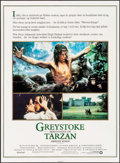 "Movie Posters:Adventure, Greystoke: The Legend of Tarzan, Lord of the Apes (Warner Brothers, 1984). Danish One Sheet (24.25"" X 33.25""), Mexican Lobby... (Total: 3 Items)"