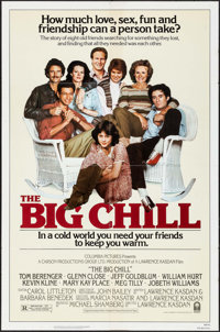 """The Big Chill & Other Lot (Columbia, 1983). One Sheet (27"""" X 41"""") & Trimmed One Sheet (27""""..."""