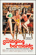 "Movie Posters:Sexploitation, The Swinging Barmaids & Other Lot (Premiere Releasing, 1975). Folded, Fine/Very Fine. One Sheets (3) (27"" X 41""), Lobby Card... (Total: 14 Items)"