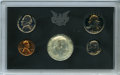 1970 10C No S Proof Dime Uncertified. Housed within a 1970 proof set, along with the 1970-S cent, nickel, quarter, and h...