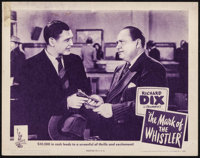 "The Mark of the Whistler & Others Lot (Columbia, 1944). Lobby Card (11"" X 14"") & Uncut Pressbooks (7)..."