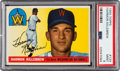 Baseball Cards:Singles (1950-1959), 1955 Topps Harmon Killebrew #124 PSA Mint 9 - Only One Higher....