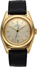 Timepieces:Wristwatch, Rolex Ref. 3131 Yellow Gold Bubble Back, circa 1940's. ...