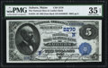 National Bank Notes:Maine, Auburn, ME - $5 1882 Date Back Fr. 534 The National Shoe &Leather Bank Ch. # (N)2270. ...