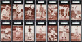Baseball Cards:Sets, 1922 Eastern Exhibit Supply Co. SGC-Graded Complete Set (20) - Almost 100% EX to NM! ...