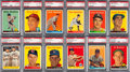 Baseball Cards:Lots, 1958 Topps Baseball PSA-Graded Collection (44). ...