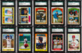 Baseball Cards:Lots, 1967-1985 Topps & Fleer Tom Seaver Blank Backs and Proofs CardCollection (25). ...