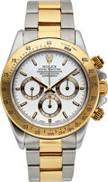 Timepieces:Wristwatch, Rolex, Ref.16523, Steel & Gold Daytona, Circa 1997. ...