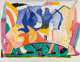David Hockney (b. 1937) Twelve Fifteen, 1991 Lithograph in colors on Rives BFK mould-made paper 44-1/8 x 57 inches (1...