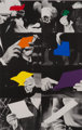 John Baldessari (b. 1931) Two Unfinished Letters, 1996 Screenprint and photo-lithograph in colors on Arches 88 paper