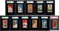 Baseball Cards:Lots, 1909 E92 Nadja Caramels Collection (11 Different). ...
