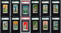 Baseball Cards:Lots, 1909 E92 Nadja Caramels St. Louis Complete Run (12). ...