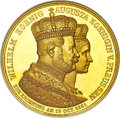 German States:Prussia, German States: Prussia. Wilhelm I gold Proof Coronation Medal of 12Ducats Weight 1861 PR63 Ultra Cameo NGC,...