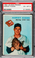 Baseball Cards:Singles (1950-1959), 1954 Wilson Franks Harvey Kuenn PSA EX-MT 6....