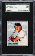 Baseball Cards:Singles (1950-1959), 1950 Bowman Luke Appling #37 SGC 96 Mint 9 - Pop One, NoneHigher....