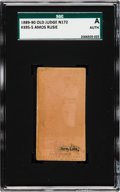Baseball Cards:Singles (Pre-1930), 1887-90 N172 Old Judge Amos Rusie (#395-5) SGC Authentic. ...