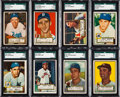 Baseball Cards:Singles (1950-1959), 1952 Topps Baseball Low Number (#1-310) Near Set (309/310) Plus TwoHigh Numbers. ...
