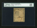 Colonial Notes:Delaware, Delaware January 1, 1776 18d PMG Very Fine 25....