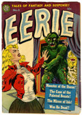 Golden Age (1938-1955):Horror, Eerie #3 (Avon, 1951) Condition: FR....