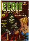 Golden Age (1938-1955):Horror, Eerie Adventures #1 (Ziff-Davis, 1951) Condition: VG+....