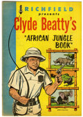 Silver Age (1956-1969):Adventure, Clyde Beatty's African Jungle Book #nn (Commodore, 1956) Condition: NM-....