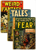 Golden Age (1938-1955):Horror, EC Comics Group (EC, 1951-53) Condition: Average FR.... (Total: 3Comic Books)