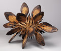 Texas, JAMES SURLS (b. 1943). Untitled, 1970s. Wood sculpture. 33 x50 x 34 inches (83.8 x 127 x 86.4 cm). Unsigned. ...