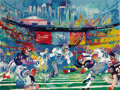 Prints:Contemporary, LEROY NEIMAN (American b.1926). Super Bowl XXVIII, GeorgiaDome, 1994. Silkscreen print. 28-1/2 x 38 in.. Ed.: 100/150....
