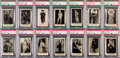 "Non-Sport Cards:Sets, 1923 F254 Orange-Crush ""Actors and Actresses"" PSA-Graded Complete Set (120) - With a 5.9 GPA! ..."