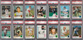 Baseball Cards:Sets, 1973 Topps Baseball High Grade Complete Set (660) With 154 PSA Graded Cards and 4 Variations. ...