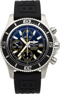 Timepieces:Wristwatch, Breitling, Ref. A1334102, SuperOcean II Diver's Chronograph, Circa2013. ...