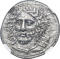Ancients:Greek, Ancients: LYCIAN DYNASTS. Pericles (ca. 380-360 BC). AR stater(23mm, 9.50 gm, 6h).NGC AU 3/5 - 3/5....