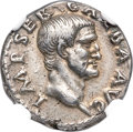 Ancients:Roman Imperial, Ancients: Galba (AD 68-69). AR denarius (18mm, 3.53 gm, 6h). NGCChoice VF 5/5 - 4/5....