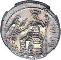 Ancients:Greek, Ancients: CILICIA. Tarsus. Satrap Mazaeus (ca. 361-334 BC). ARstater (23mm, 10.98 gm, 7h). NGC MS ★ 4/5 - 5/5, Fine Style....