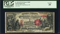 National Bank Notes:Michigan, Grand Haven, MI - $5 1875 Fr. 404 The First NB Ch. # 1849. ...