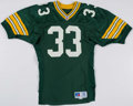 Football Collectibles:Uniforms, 1991 Keith Woodside Game Worn Green Bay Packers Jersey. . ...