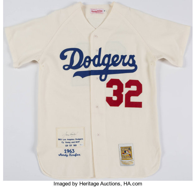 a42568a678b Sandy Koufax Signed Los Angeles Dodgers Jersey. . ... Autographs ...