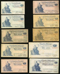 World Currency: , An Argentinian Contingent.. ... (Total: 14 notes)