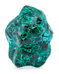 Minerals:Cabinet Specimens, Malachite. Katanga Copper Crescent. Katanga (Shaba). DemocraticRepublic of Congo (Zaïre). 5.40 x 3.94 x 2.81 inches (13.7...