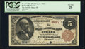 Ithaca, MI - $5 1882 Brown Back Fr. 467 The First NB Ch. # 3217