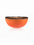 Jay Musler (American, b. 1949) Cityscape Bowl, 1989 Cast glass 8-1/4 inches high x 18 inches diam