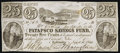 Obsoletes By State:Maryland, Baltimore, MD- Patapsco Savings Fund 25¢ Sep. 1, 1840. ...