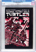 Modern Age (1980-Present):Alternative/Underground, Teenage Mutant Ninja Turtles #1 (Mirage Studios, 1984) CGC NM/MT 9.8 White pages....